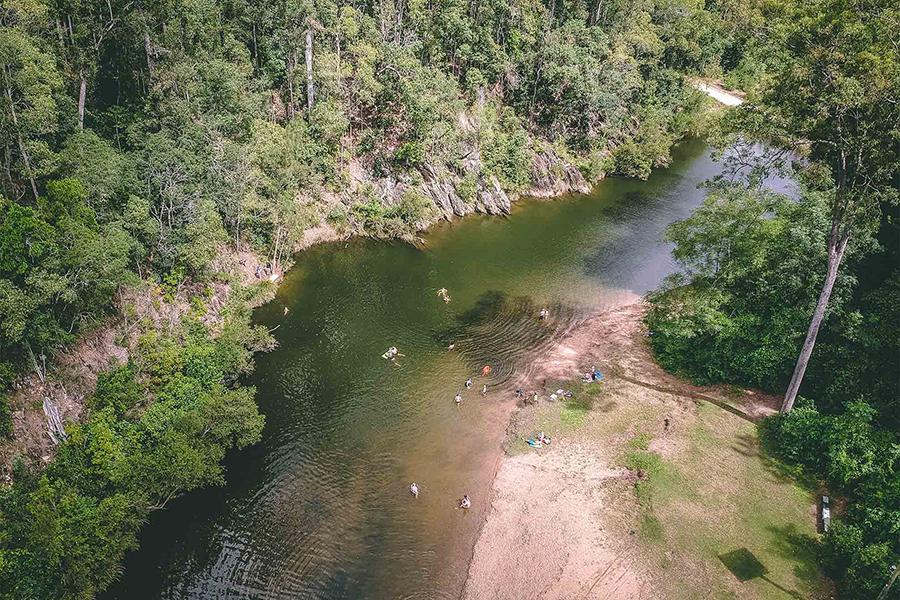 Beste Campingplätze in der Nähe von Brisbane Charlie Moreland Camping Area