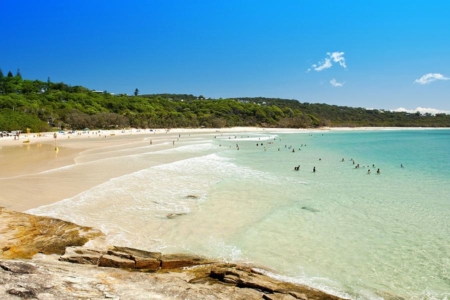 Beste Campingplätze in der Nähe von Brisbane Cylinder Beach Campingplatz