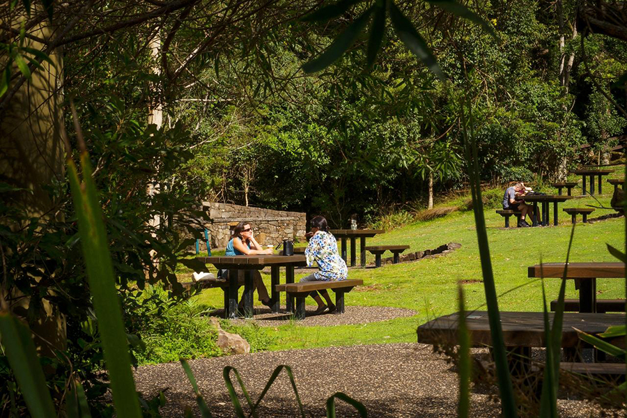 Beste Campingplätze in der Nähe des Brisbane Lamington National Park
