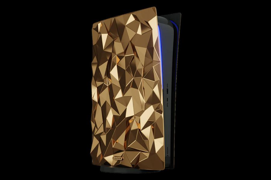 Diese lächerliche PlayStation 5 ist in 20 kg 18 Karat Gold eingewickelt