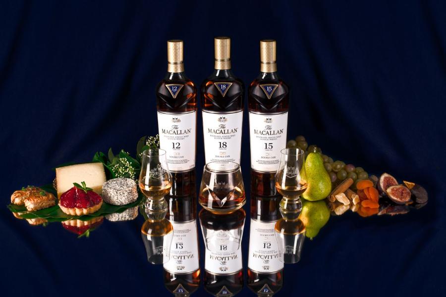 Das Macallan veranstaltet in Sydney ein schickes 6-Gänge-Whisky-Fest