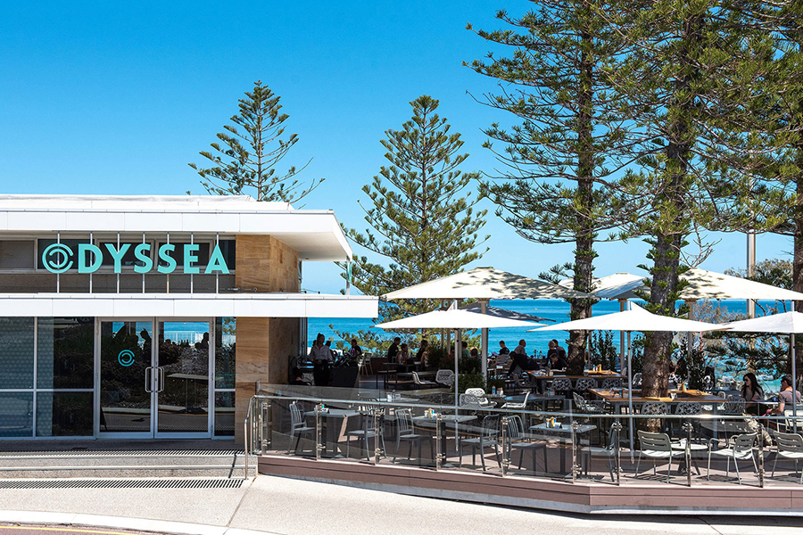 Spots for the Best Breakfast and Brunch in Perth Odyssea Beach Cafe