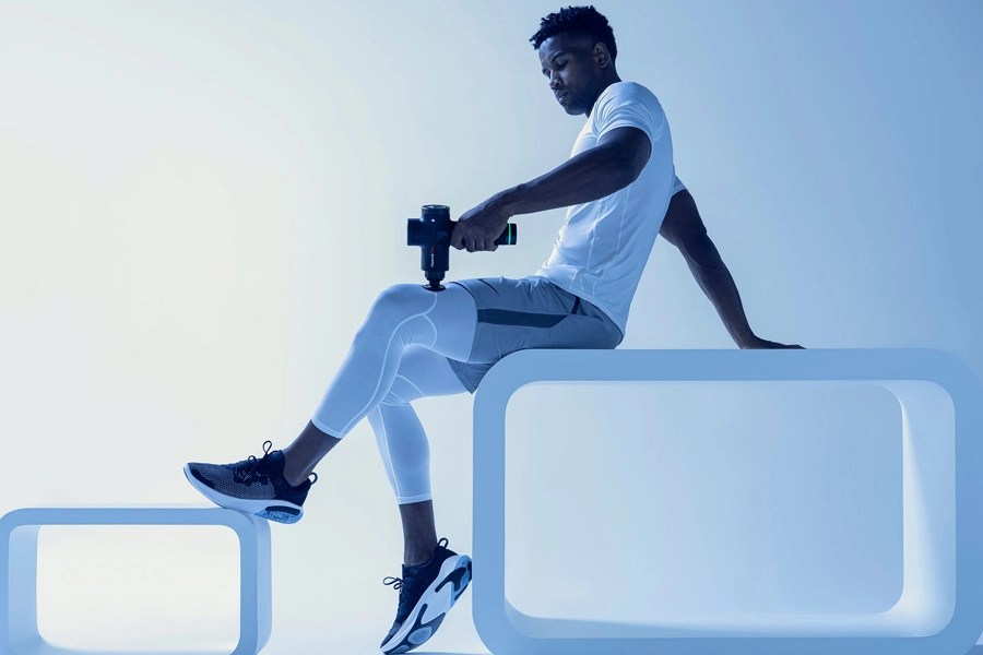 HyperVolt Plus Bluetooth Percussion Massagegerät