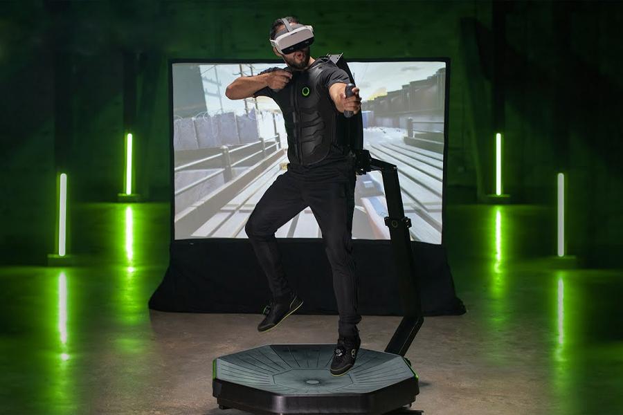 Das Virtuix Omni One VR-Laufband für zu Hause ist die Zukunft des Spielens