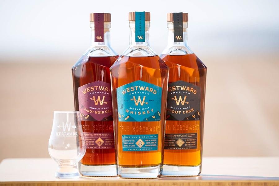 Westward legendären Whisky Pinot Noir Cask Finish