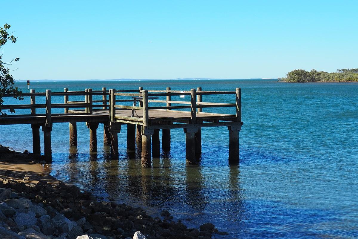 Beste Angelplätze im Brisbane Tuckeroo Park, Nudgee Beach
