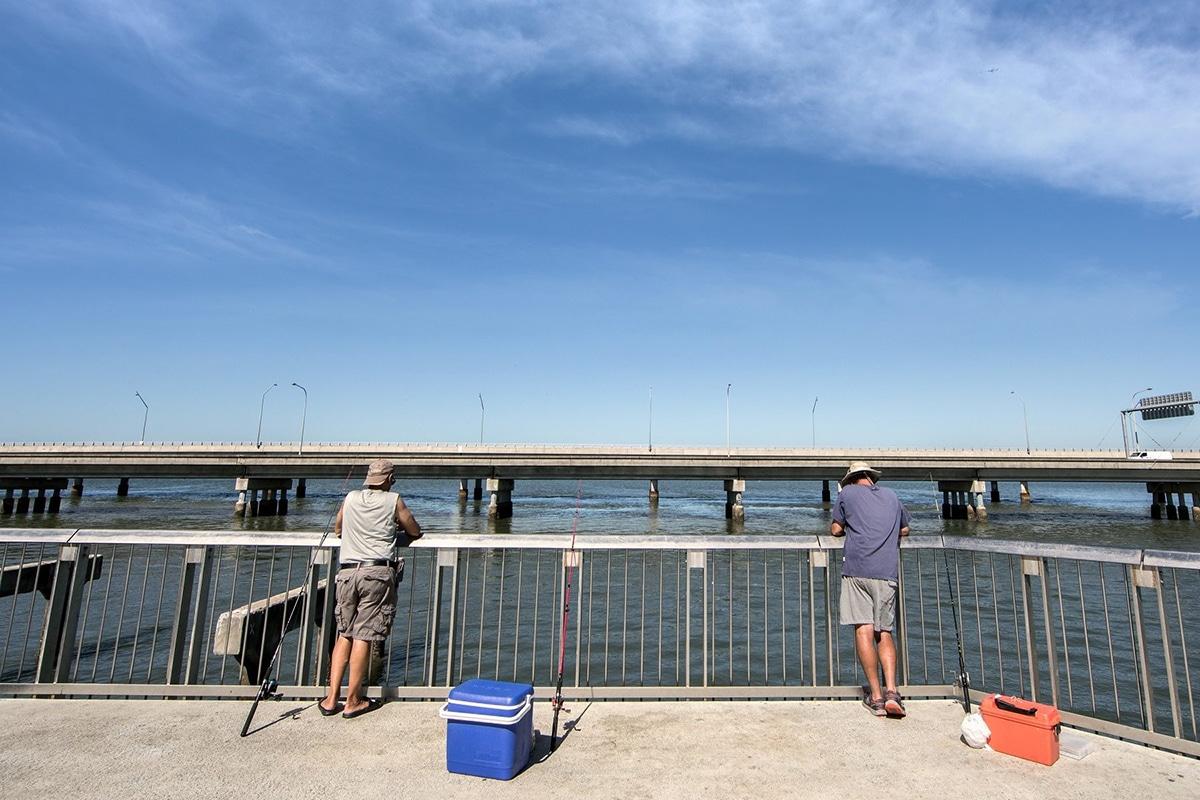 Beste Angelplätze in Brisbane Hornibrook Bridge, Pine River