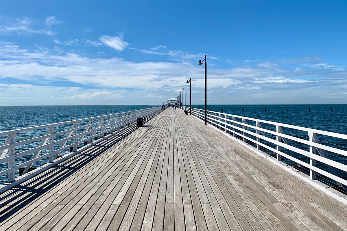 Beste Angelplätze in Brisbane Shorncliffe Pier, Shorncliffe