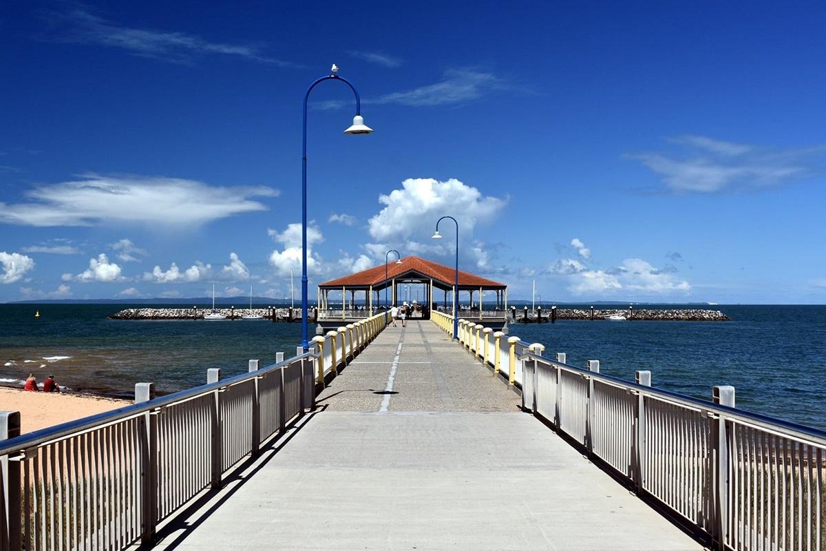 Beste Angelplätze in Brisbane Redcliffe Jetty