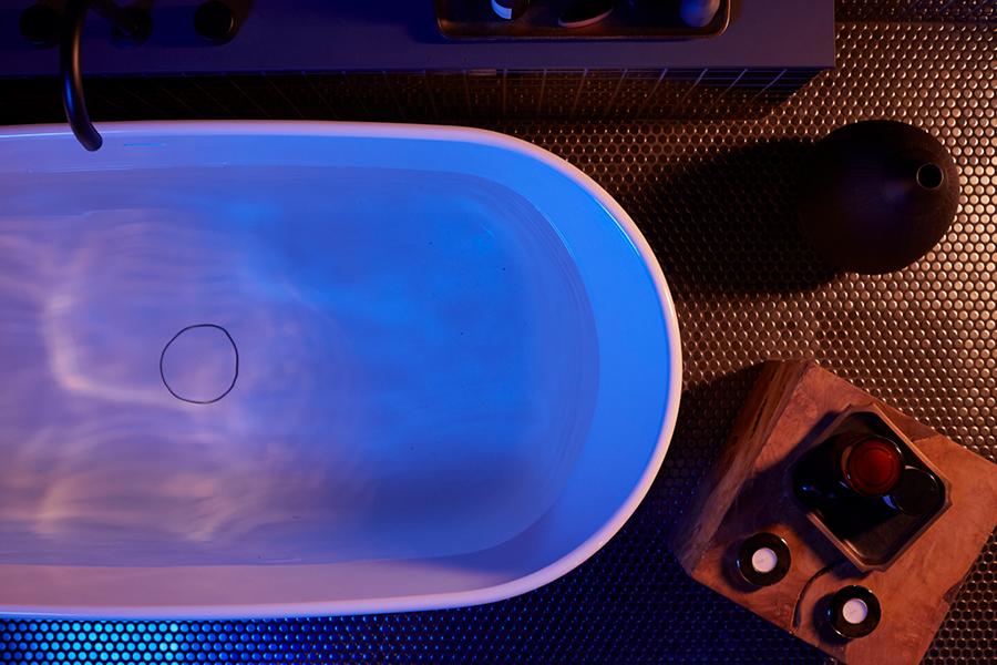 Smart Badewanne Wasserhahn