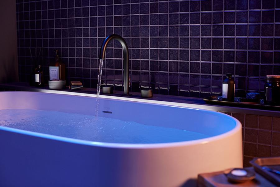 Intelligentes Badewannenwasser