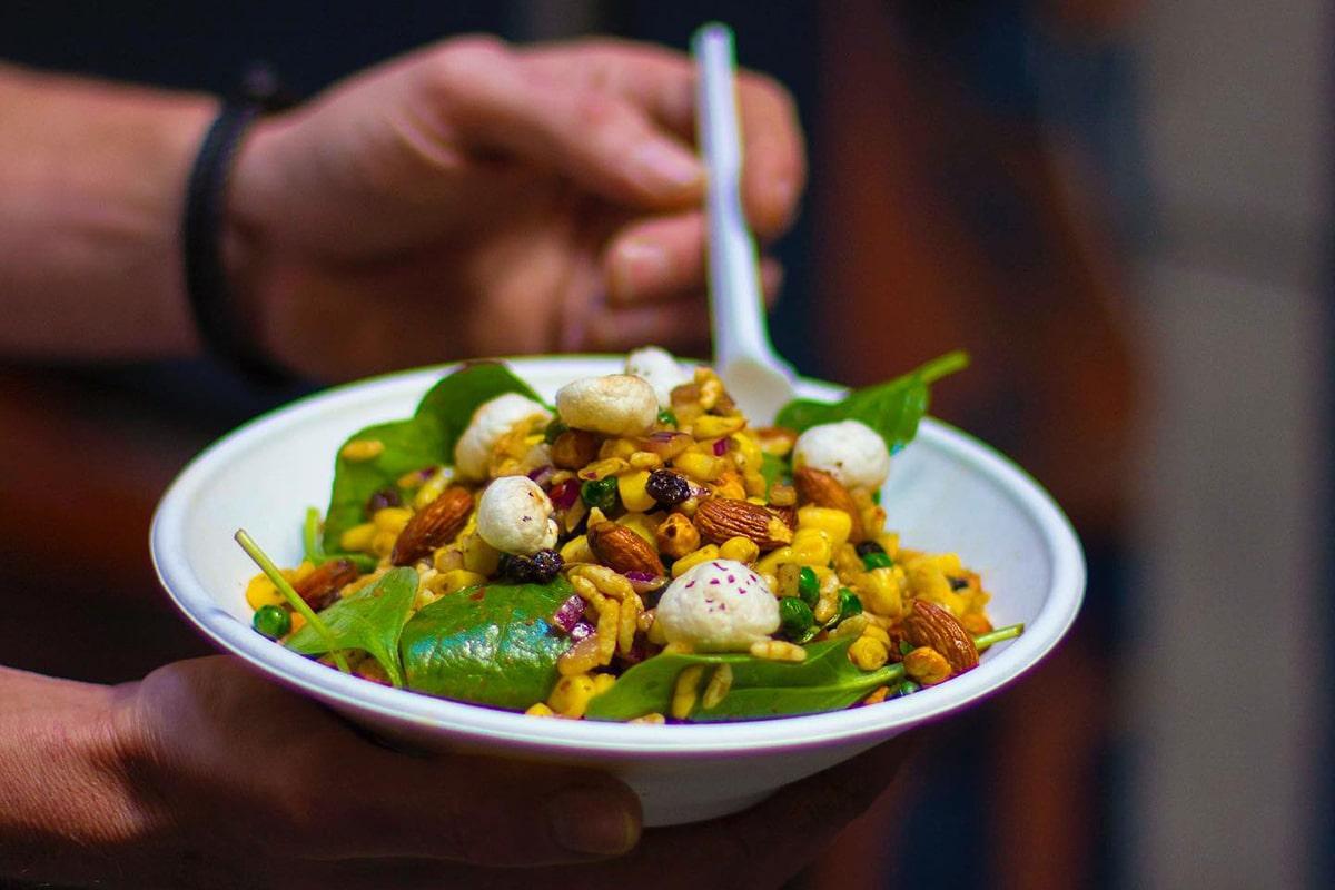 Beste vegane Restaurants in Sydney Flyover Fritterie und Chai Bar