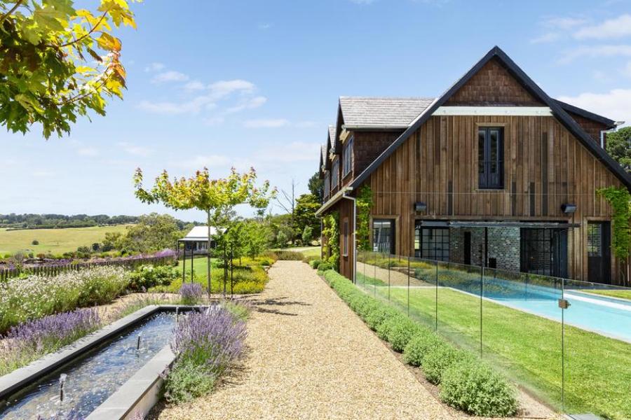 Diese 9 Millionen US-Dollar teure Mornington Peninsula Mansion verfügt über einen eigenen Trüffelgarten