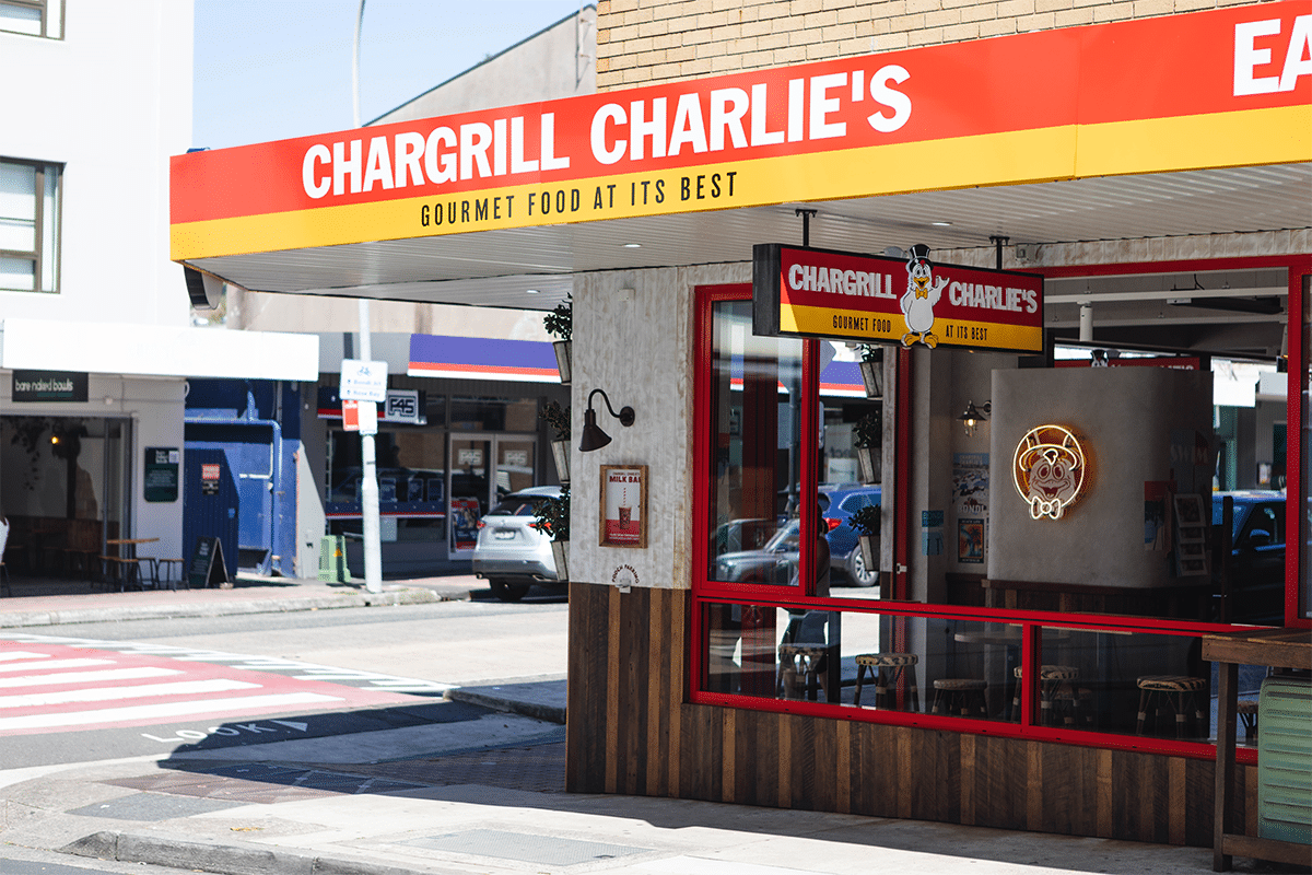 12. Februar Chargrill Charlies