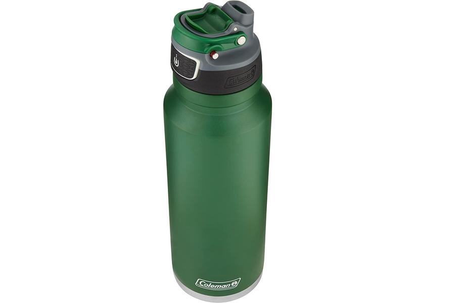 Coleman FreeFlow AUTOSEAL Isolierte Edelstahl-Wasserflasche