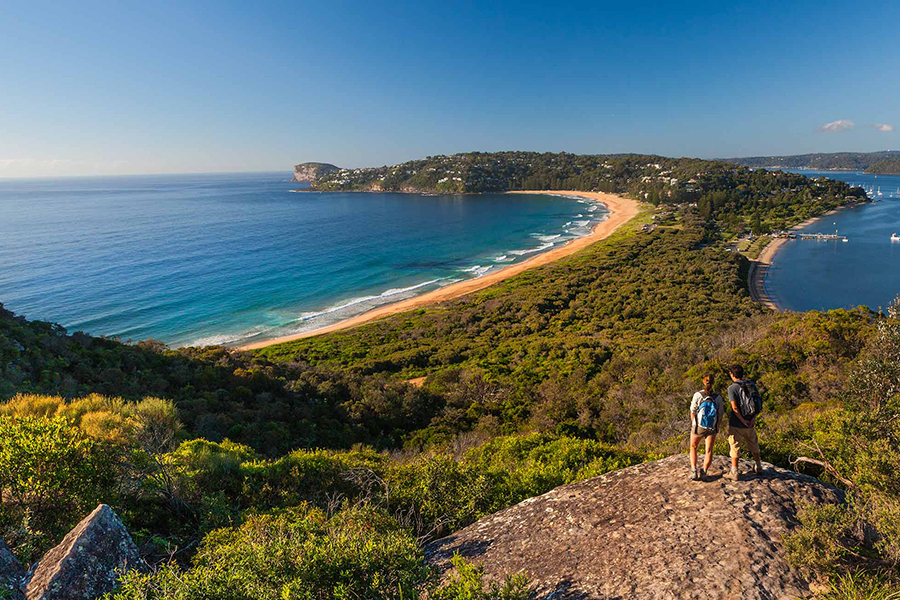 Beste Wanderwege und Wanderwege Sydney Barrenjoey Lighthouse Walk