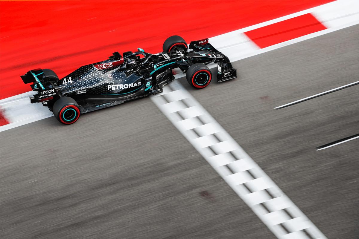 Lewis Hamilton im Petronas-Auto