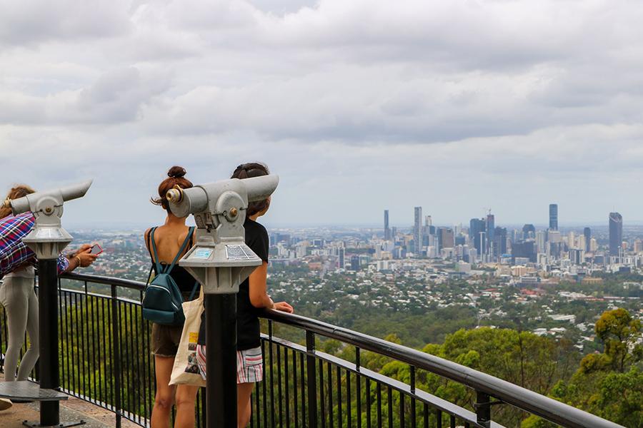 Beste Wanderwege in Brisbane Summit Track, Mt. Coot-tha