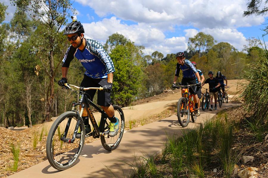 Beste Wanderwege in Brisbane Holmans Break, Walkabout Creek