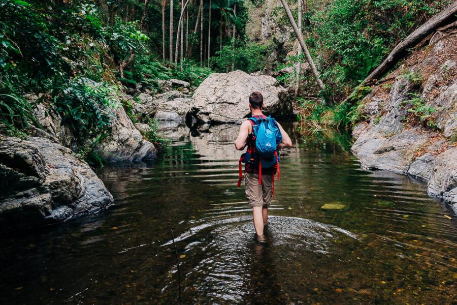 Beste Wanderwege in Brisbane Northbrook Gorges, Brisbane Forest Park