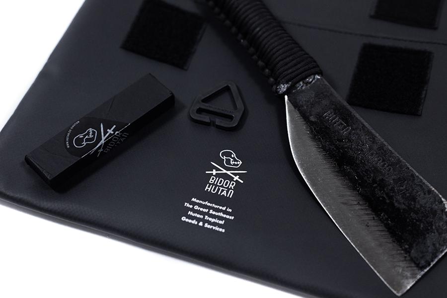 hutan x bidor logomark eine Zusammenarbeit von Hutan und Bidor