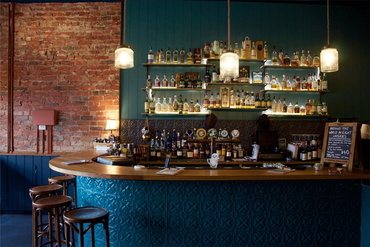 Buck Mulligans Whisky Bar Melbourne