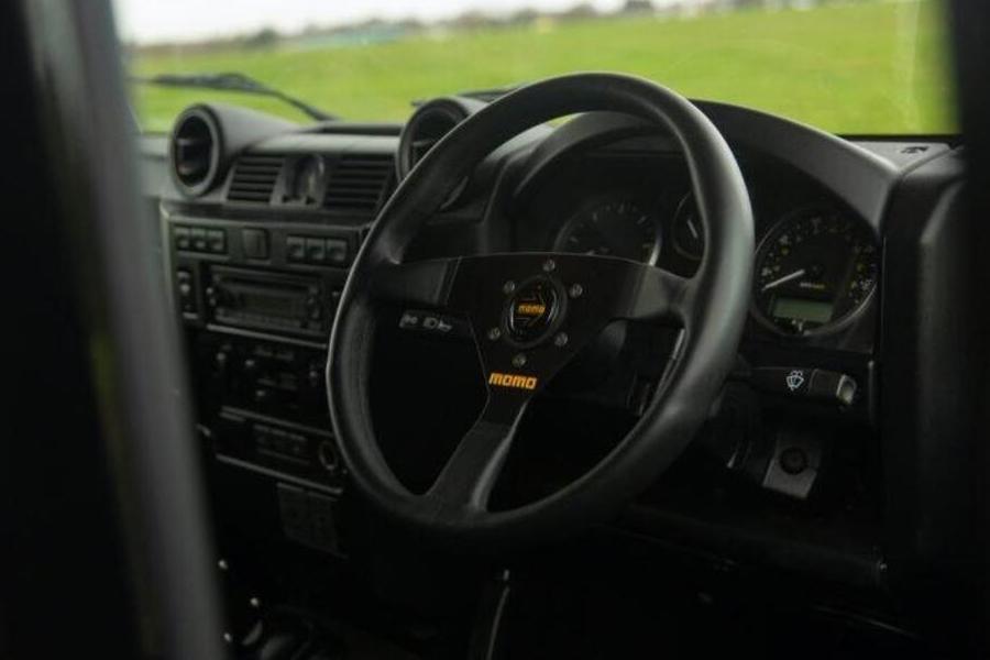 2010 Land Rover Defender Spectre Dashboard