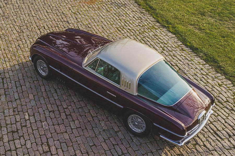 1954 Ferrari 375 America Coupé zurück