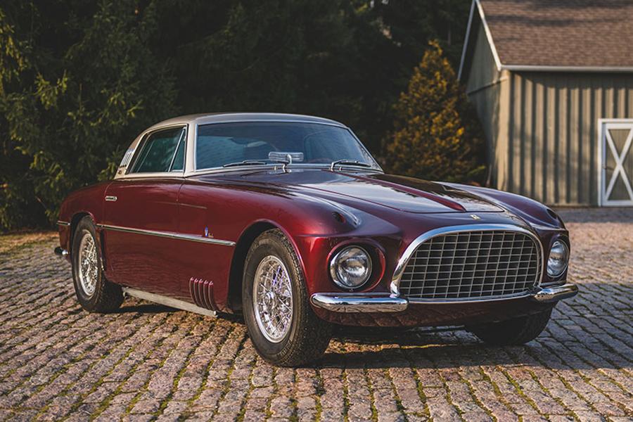 Das äußerst seltene Ferrari 375 America Coupé von 1954 kostet 3,3 Millionen US-Dollar
