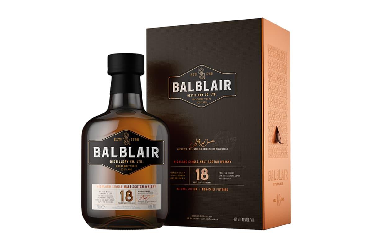New Balblair Whiskys 18 Jahre alt