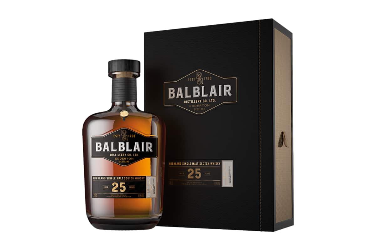 New Balblair Whiskys 25 Jahre alt
