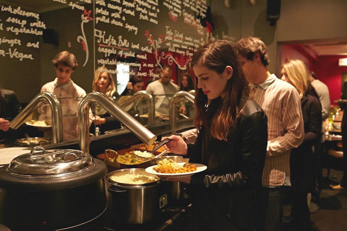 Das Beste, was Sie essen können Restaurants in Sydney Govindas Kino und Restaurant
