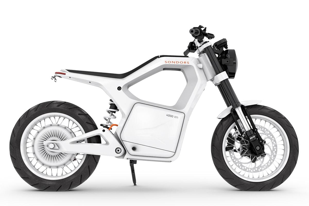 Sondors Metacycle weiß