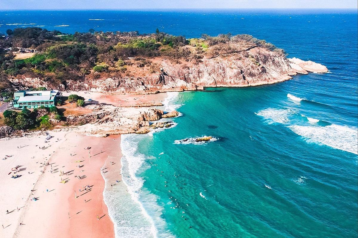 Beste Strände in der Nähe von Brisbane Main Beach