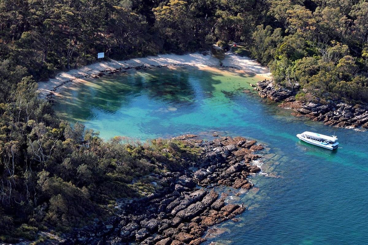 Beste Strände in der Nähe von Brisbane Honeymoon Bay