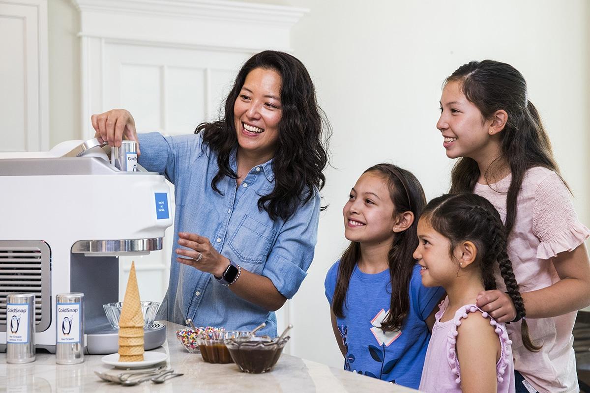 ColdSnap Soft-Serve Eismaschine Futterschale