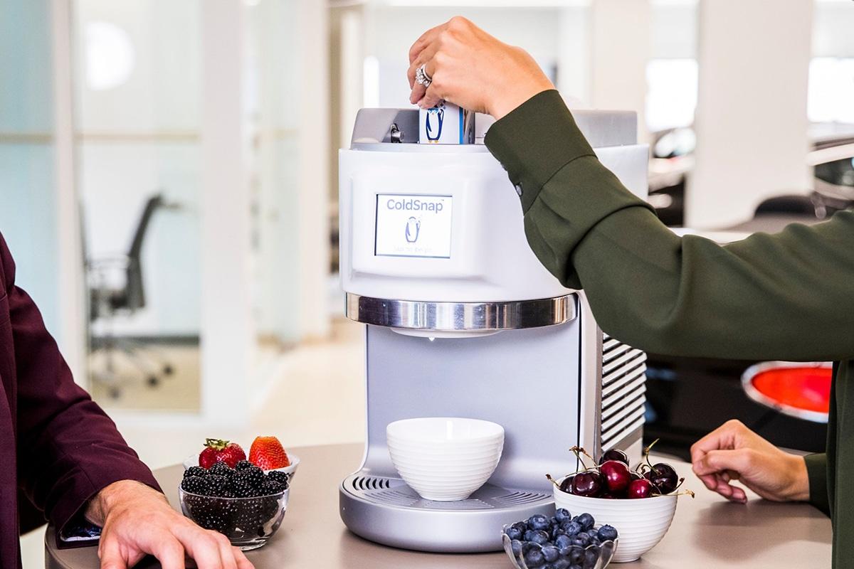 ColdSnap Soft-Serve Eismaschine Einsatzdose