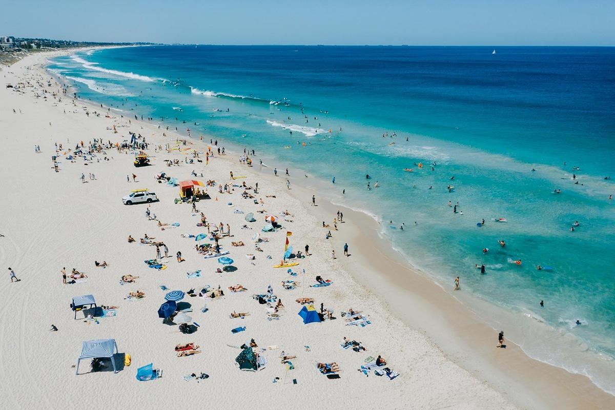 Beste Perth Strände, um diesen Sommer Trigg Beach zu besuchen