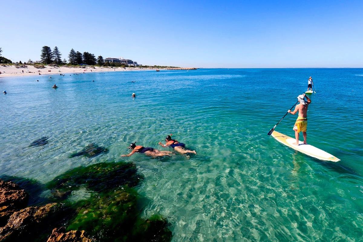 Beste Perth Strände, um diesen Sommer South Beach zu besuchen