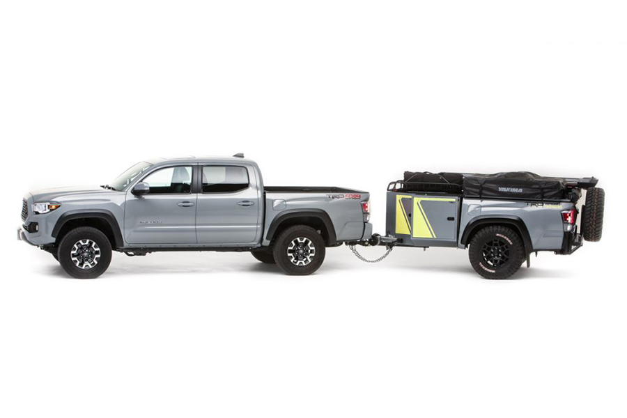 Toyota Overlanding Rig das TRD-Reisefahrzeug
