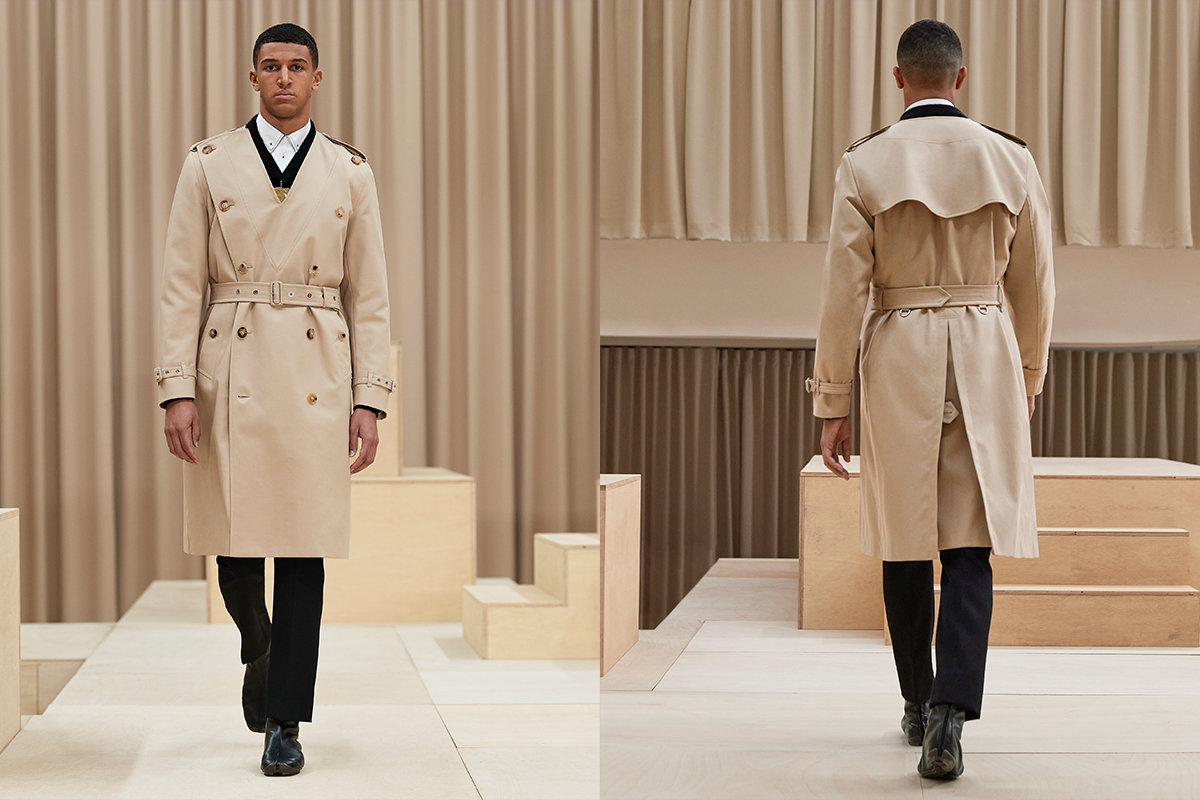 Burberry AW21 Look 11