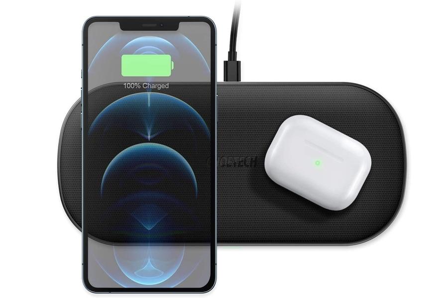 CHOETECH Dual Wireless Ladegerät