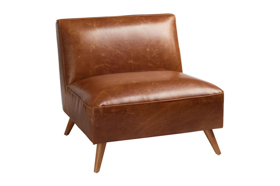 Weltmarkt Mitte des Jahrhunderts Armless Huxley Chair