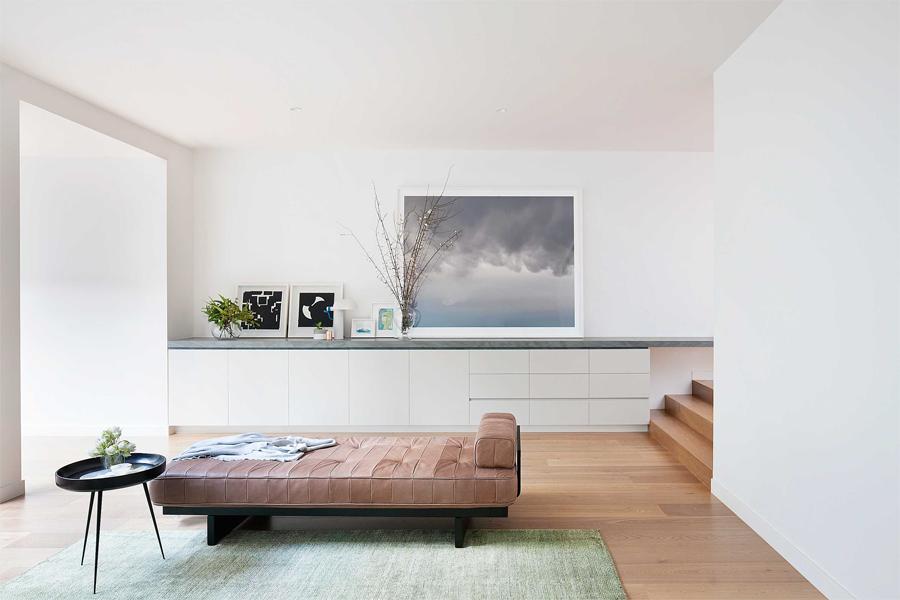 Minimalistische Wohnzimmeridee 1