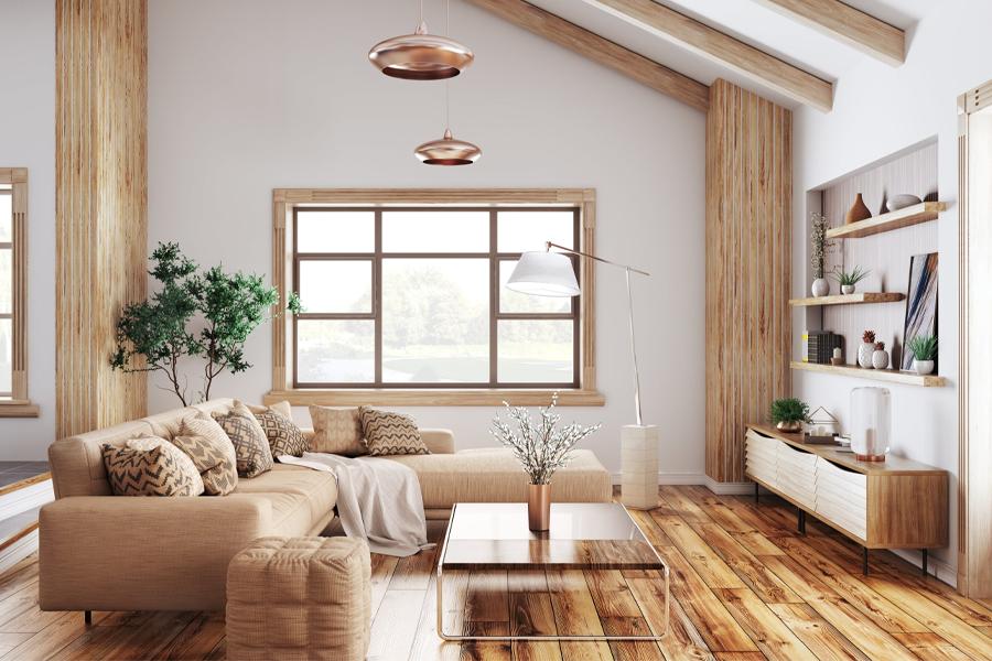 Minimalistische Wohnzimmeridee 7