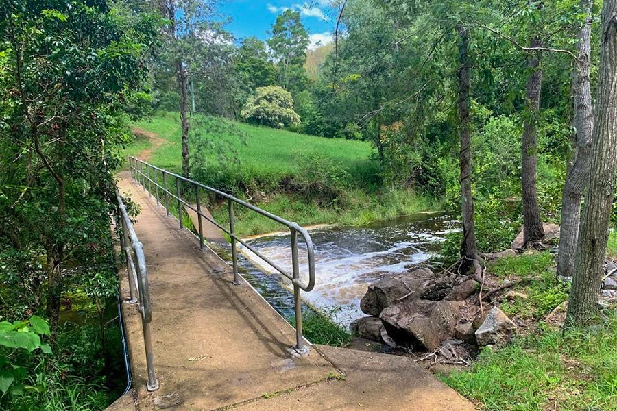 Beste Wanderwege im Brisbane Gold Creek Reservoir, Upper Brookfield