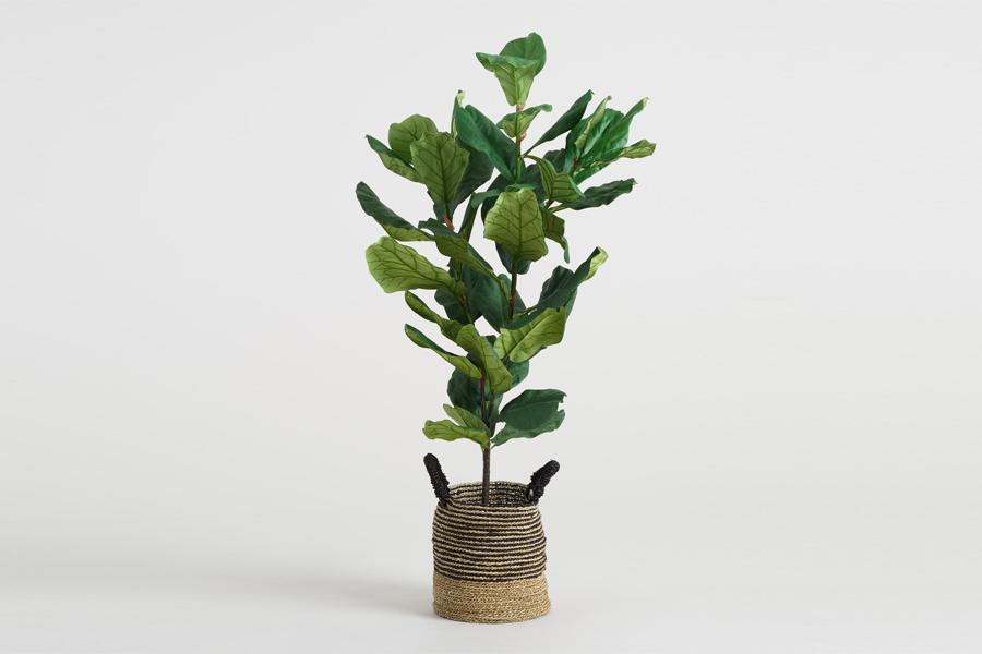 Weltmarkt Faux Fiddle-Leaf Feigenpflanze