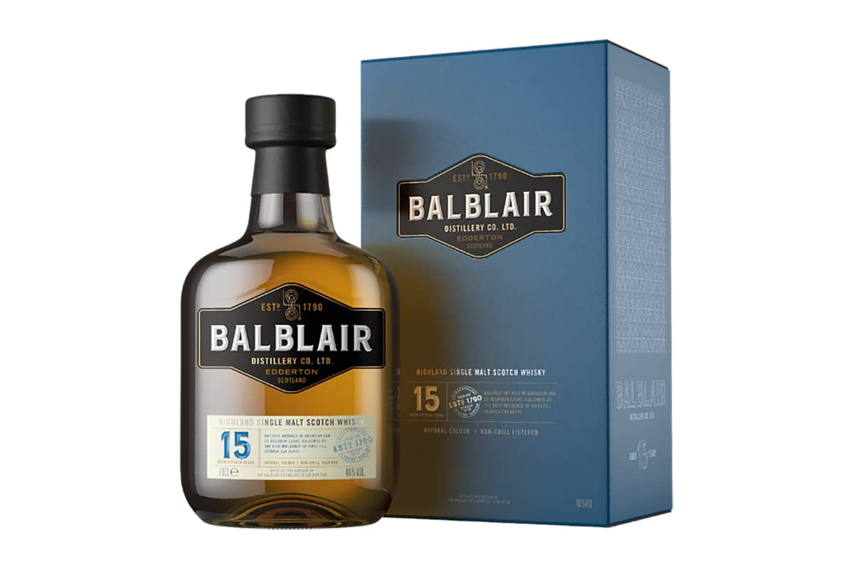 New Balblair Whiskys 15 Jahre alt