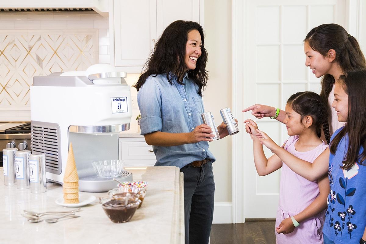 ColdSnap Soft-Serve Eismaschine wählen Pod