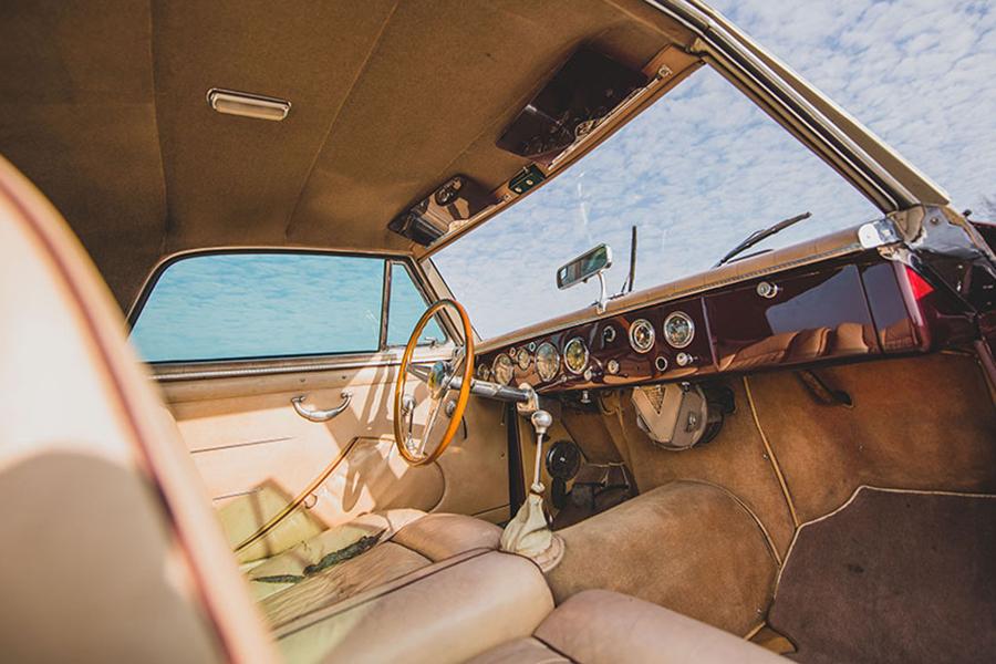 1954 Ferrari 375 America Coupé Armaturenbrett und Lenkrad